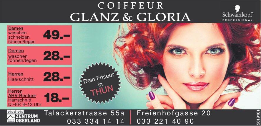COIFFEUR GLANZ & GLORIA, Thun