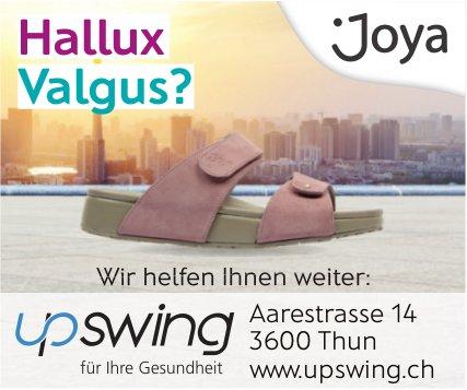 Upswing,Thun - Hallux Valgus?