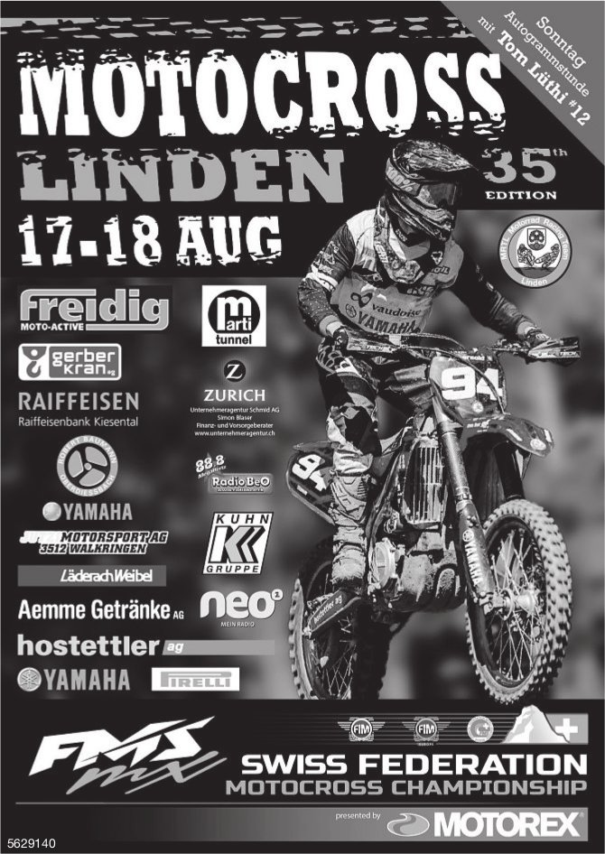 Motocross Linden, 35th Edition, 17.-18. August