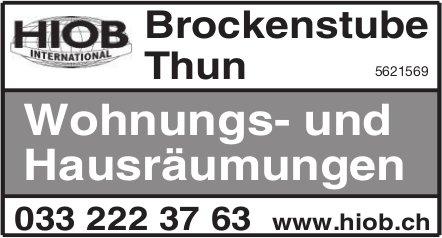HIOB International - Brockenstube Thun: Wohnungs- und Hausräumungen