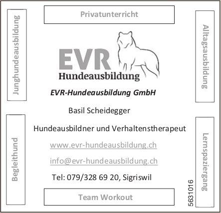 EVR-Hundeausbildung GmbH - Hundeausbildner und Verhaltenstherapeut