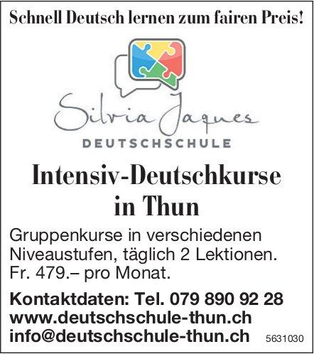 Silvia Jaques Deutschschule - Intensiv-Deutschkurse in Thun