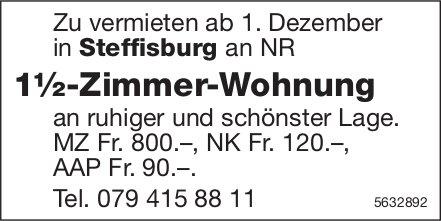 1½-Zimmer-Wohnung in Steffisburg zu vermieten