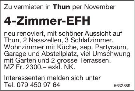 4-Zimmer-EFH in Thun zu vermieten