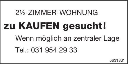 2½-ZIMMER-WOHNUNG zu KAUFEN gesucht!