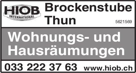 HIOB Brockenstube Thun - Wohnungs- und Hausräumungen