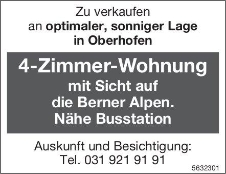 4-Zimmer-Wohnung in Oberhofen zu verkaufen