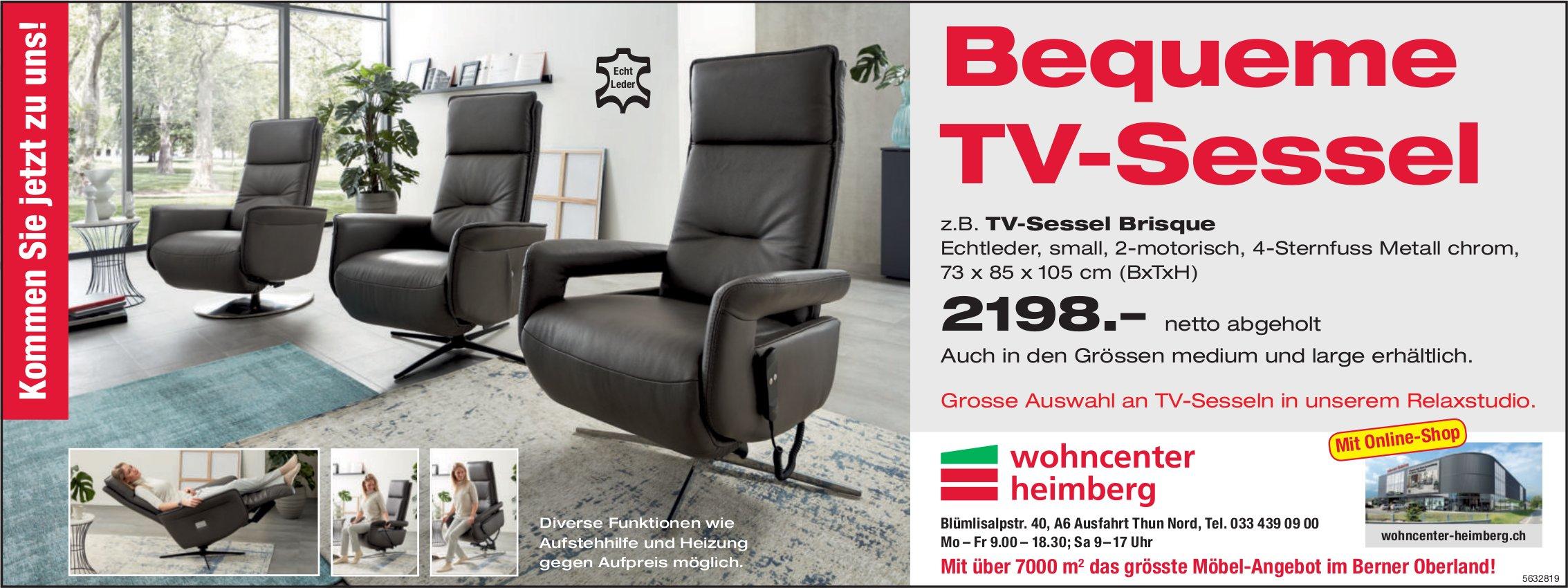 Wohncenter Heimberg - Bequeme TV-Sessel