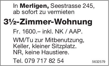 3½-Zimmer-Wohnung in Merlingen zu vermieten