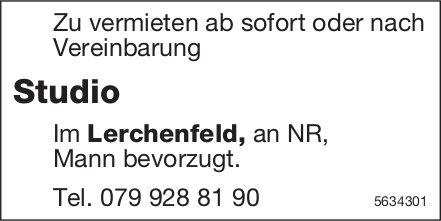 Studio im Lerchenfeld zu vermieten
