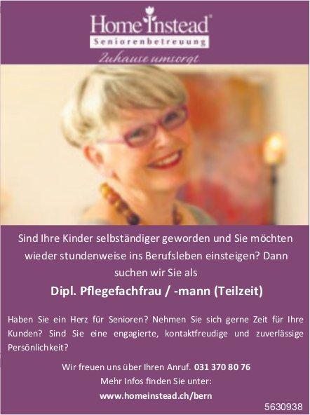 Dipl. Pflegefachfrau/-mann, Home Instead, Seniorenbetreuung, gesucht