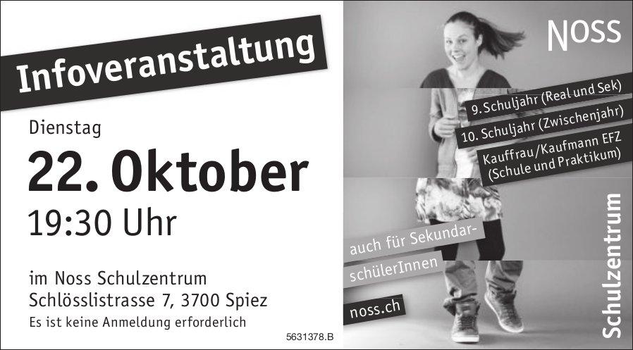 Noss Schulzentrum - Infoveranstaltung am 22. Oktober