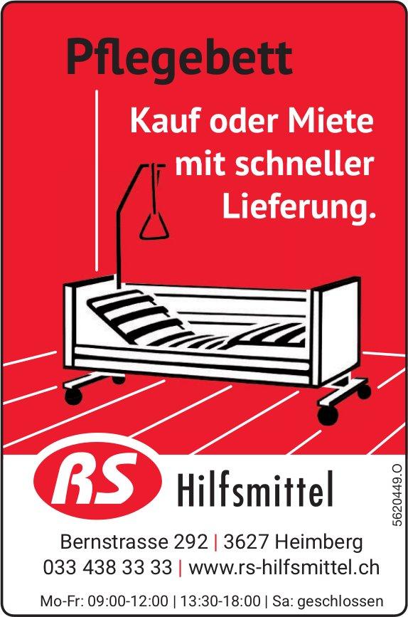 RS Hilfsmittel - Pflegebett: Kauf oder Miete mit schneller Lieferung.