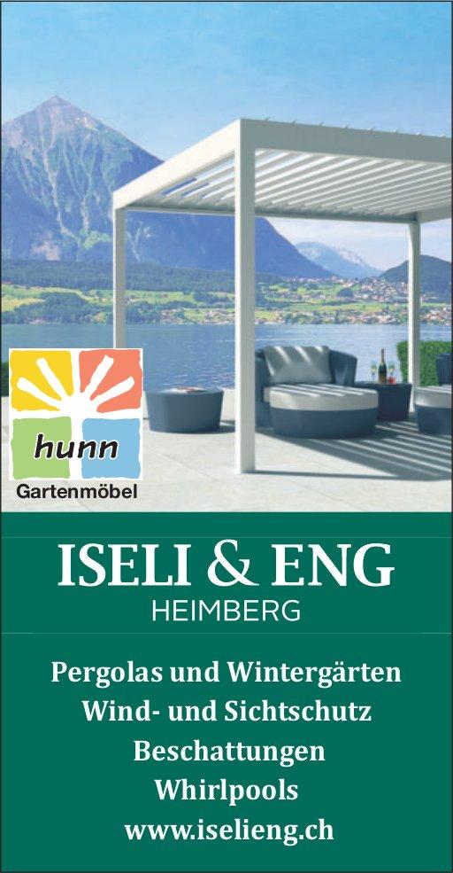 ISELI& ENG HEIMBERG - Pergolas und Wintergärten, Wind- und Sichtschutz