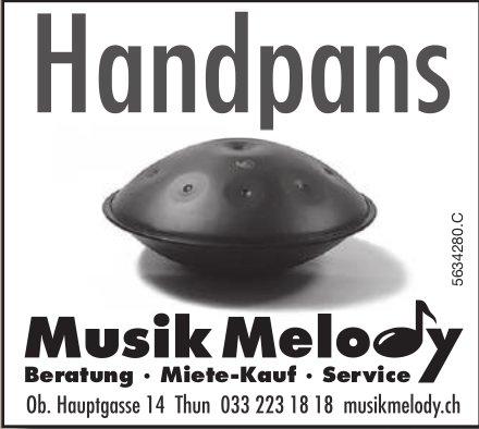 Musik Melody, Thun - Handpans