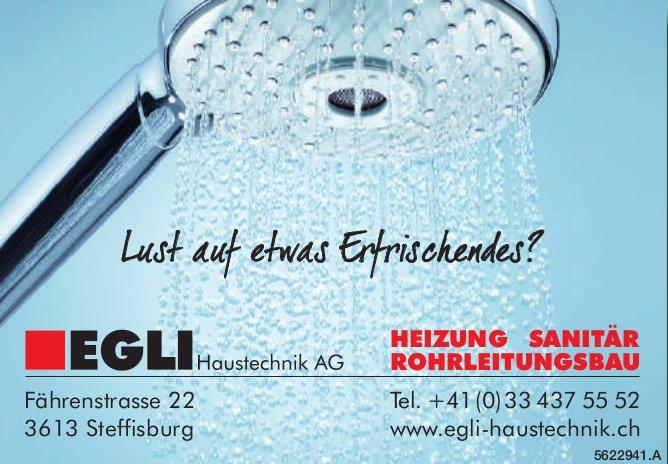 EGLI Haustechnik AG - Lust auf etwas Erfrischenes?
