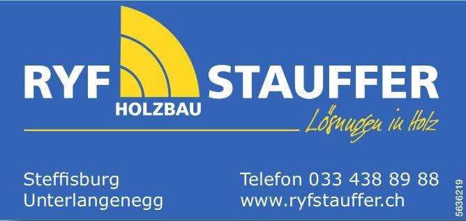RYF STAUFFER HOLZBAU - Lösungen in Holz