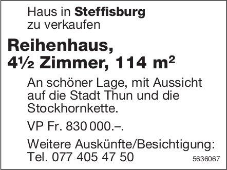 Reihenhaus, 4½ Zimmer, 114 m2, in Steffisburg zu verkaufen