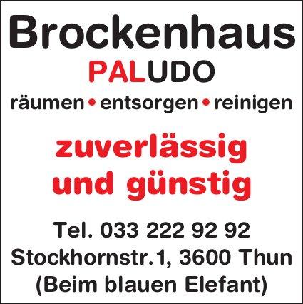 Brockenhaus PALUDO, Thun - zuverlässig und günstig