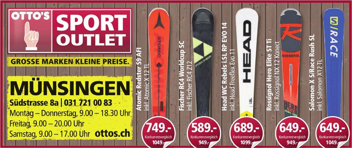 OTTO'S - SPORT OUTLET: Grosse Marken, kleine Peise in Münsingen