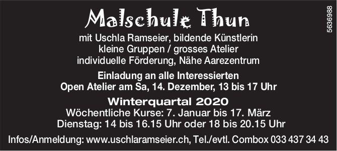 Malschule Thun - Open Atelier, 14. Dezember