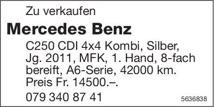 Mercedes Benz C250 CDI 4x4 Kombi, Silber Jg. 2011 zu verkaufen