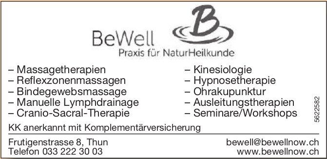BeWell - Praxis für NaturHeilkunde