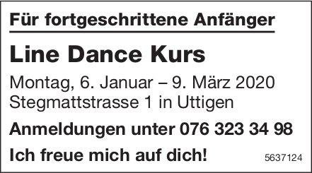 Line Dance Kurs für fortgeschrittene Anfänger, 6. Januar - 9. März, Uttigen