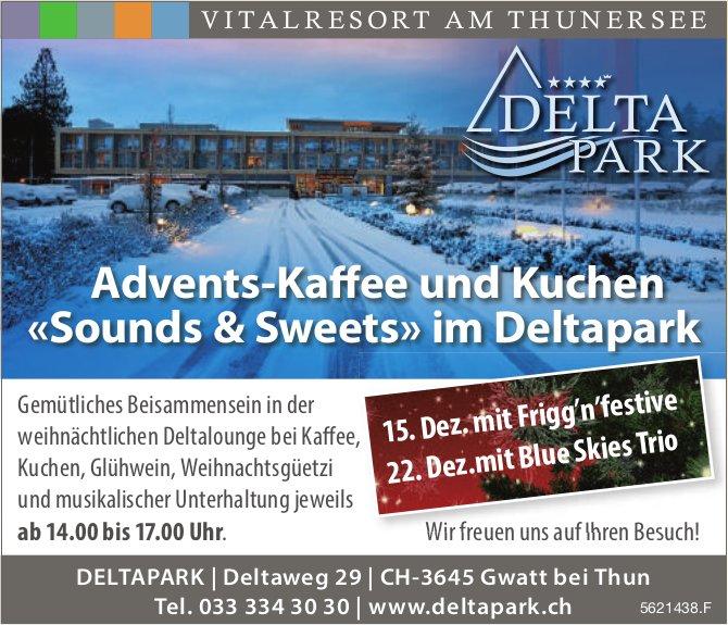 DELTAPARK - Advents-Kaffee und Kuchen «Sounds & Sweets» im Deltapark