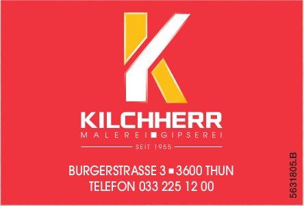 MALEREI & GIPSEREI KILCHHERR, THUN