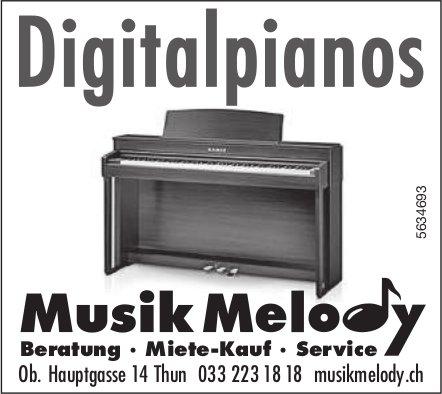 Musik Melody, Thun - Digitalpianos