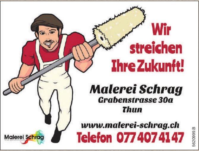 Malerei Schrag, Thun - Wir streichen Ihre Zukunft!