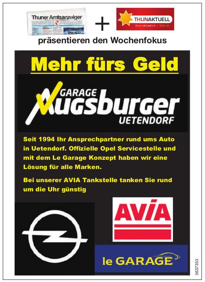 Garage Augsburger, Uetendorf - Mehr fürss Geld