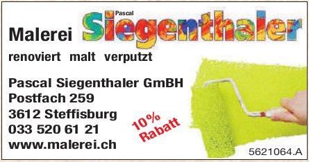 Malerei Pascal Siegenthaler GmbH, Steffisburg - 10% Rabatt