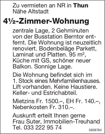 4.5 Zimmer-Wohnung in Thun zu vermieten