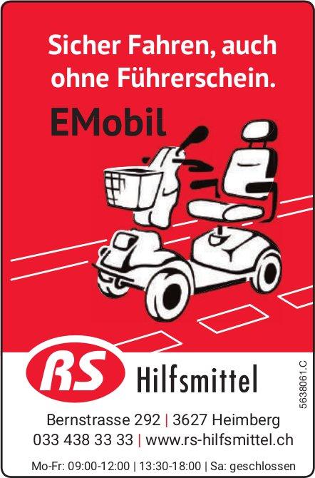 RS Hilfsmittel - Sicher Fahren, auch ohne Führerschein. EMobil