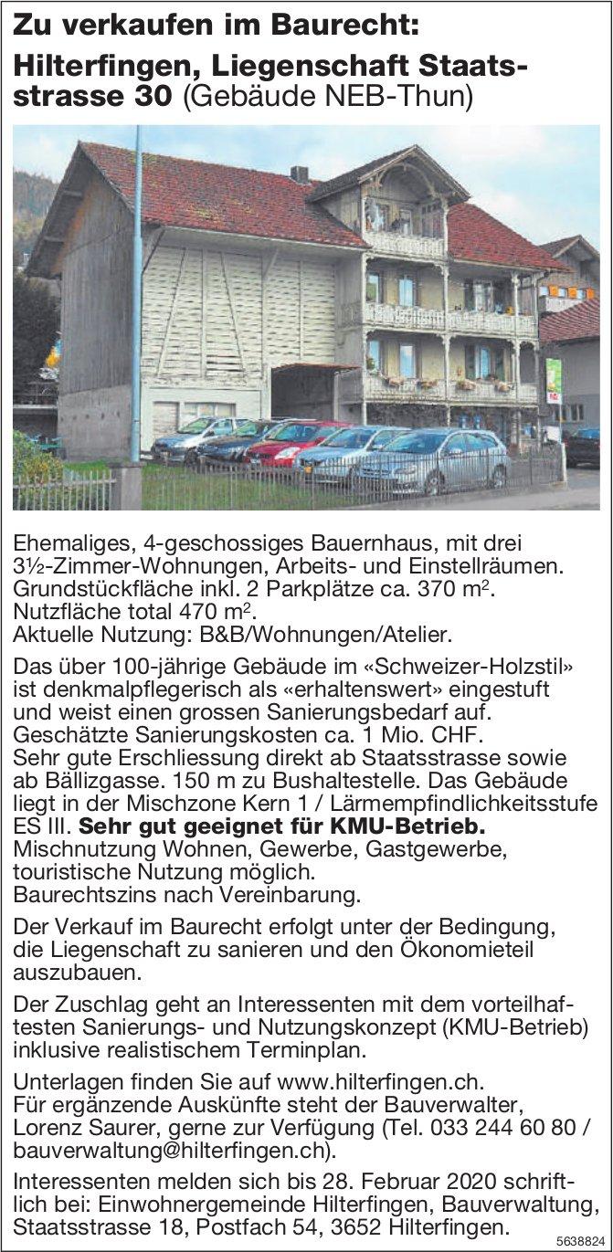 3.5 Zimmer-Wohnungen in Hilterfingen zu verkaufen