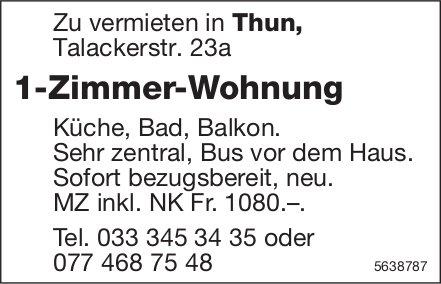 1 Zimmer-Wohnung in Thun zu vermieten