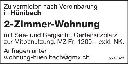 2-Zimmer-Wohnung in Hünibach zu vermieten