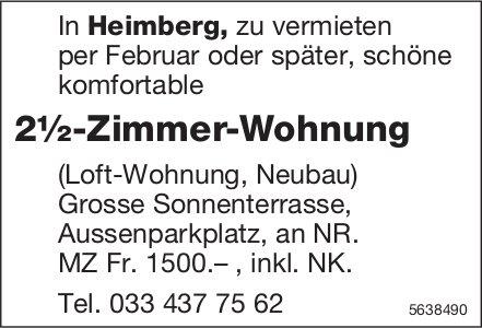 2.5 Zimmer-Wohnung in Heimberg zu vermieten