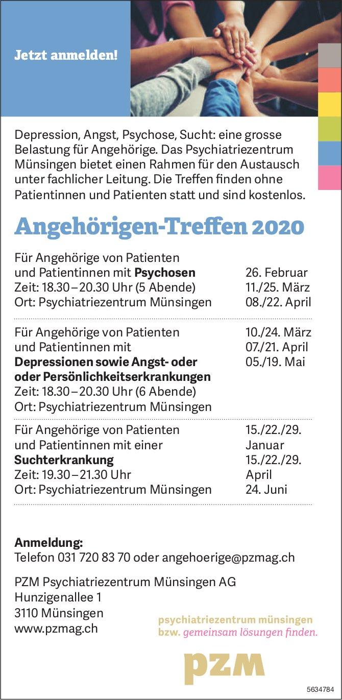 PZM Psychiatriezentrum Münsingen AG - Angehörigen-Treffen 2020