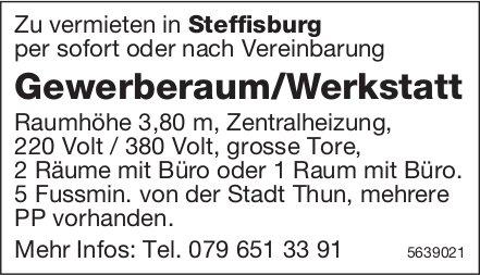 Gewerberaum/Werkstatt in Steffisburg zu vermieten