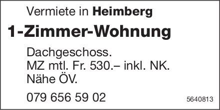 1 Zimmer-Wohnung in Heimberg, zu vermieten
