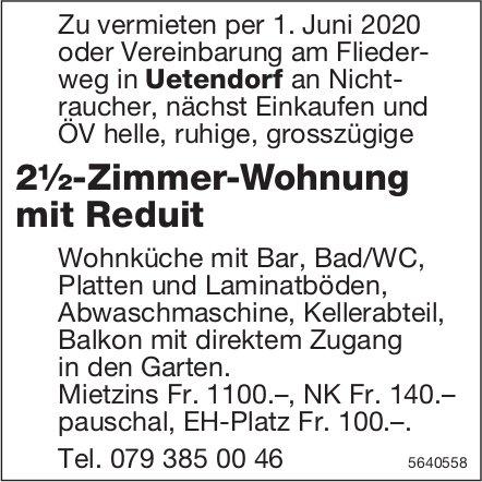 2½-Zimmer-Wohnung mit Reduit in Uetendorf zu vermieten