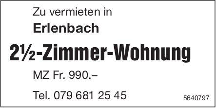2½-Zimmer-Wohnung, Erlenbach, zu vermieten
