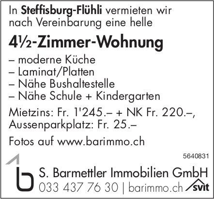 4.5 Zimmer-Wohnung in Steffisburg-Flühli zu vermieten