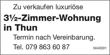 Luxuriöse 3.5 Zimmer-Wohnung in Thun zu verkaufen