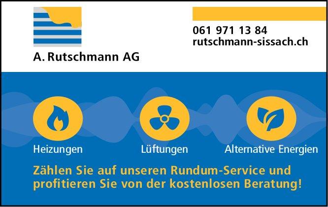 A. Rutschmann AG, Sissach