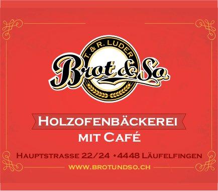 Holzofenbäckerei mit Café, Läufelfingen