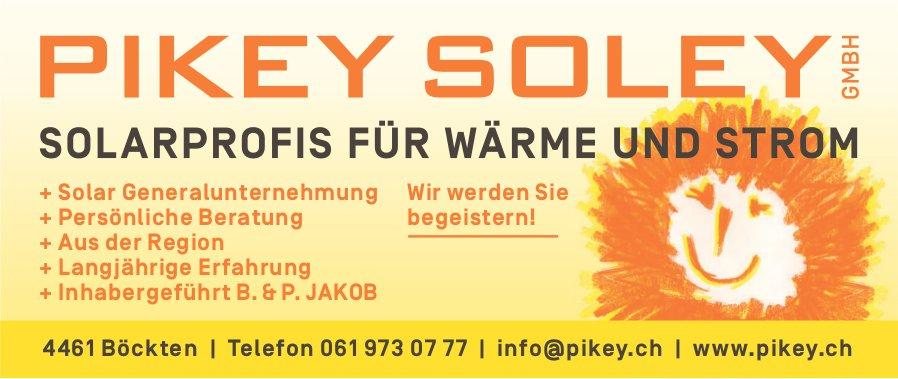 Pikey Soley GmbH, Böckten